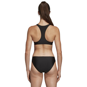 adidas Fit 3-Stripes Infinitex Bikini Damen black